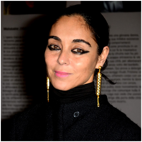Shirin Neshat Gold Earrings