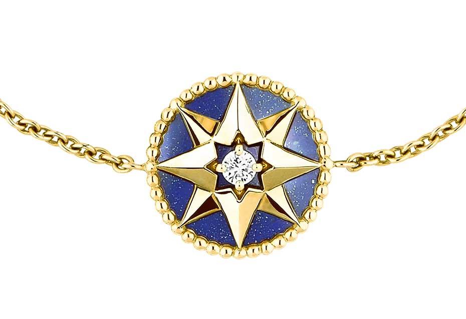 Dior-Rose-des-Vents Lapis bracelet